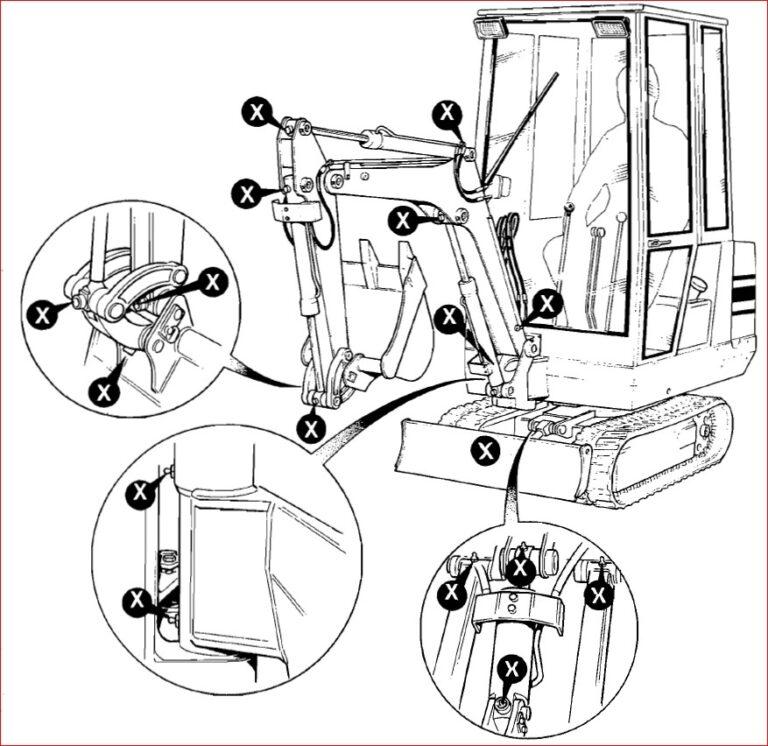 Jcb 801 Tracked Excavator Service Repair Workshop Manual