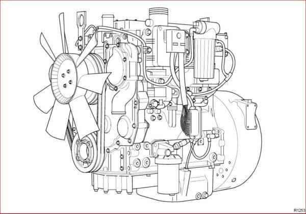 Jcb Diesel 1100 Series Engine Re rg Service Repair