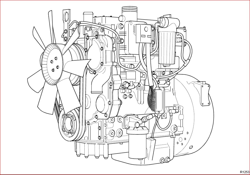 Jcb Diesel 1100 Series Engine Re rg Service Repair