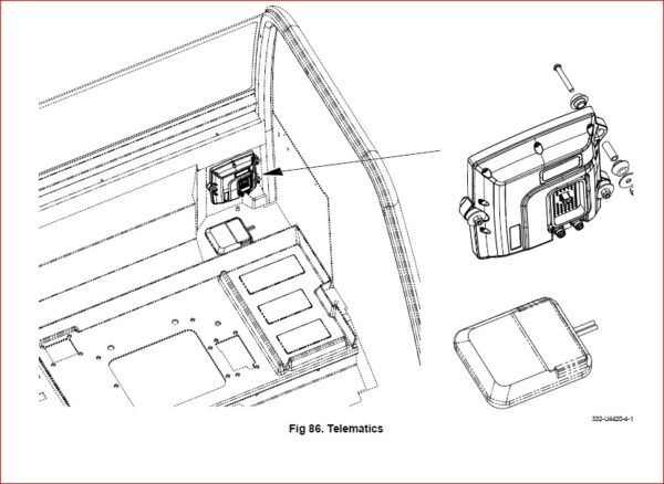 Jcb Tm310 Tm310s Tm310wm Telescopic Wheeled Loader Service