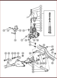Jeep Wrangler Tj 2002 Parts List Catalog Illustrated