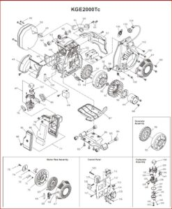 Kipor Kge2000tc Generator User And Parts Manual ~ Hey