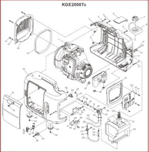 Kipor Kge2000tc Generator User And Parts Manual ~ Hey