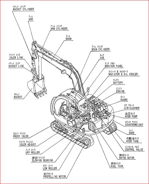 Kobelco Sk60mark V Crawler Excavator Parts Manual Instant