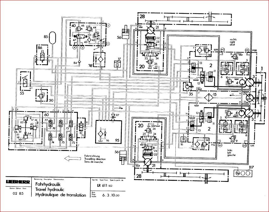 Liebherr Lr 611 621 631 641 Crawler Loader Service Manual