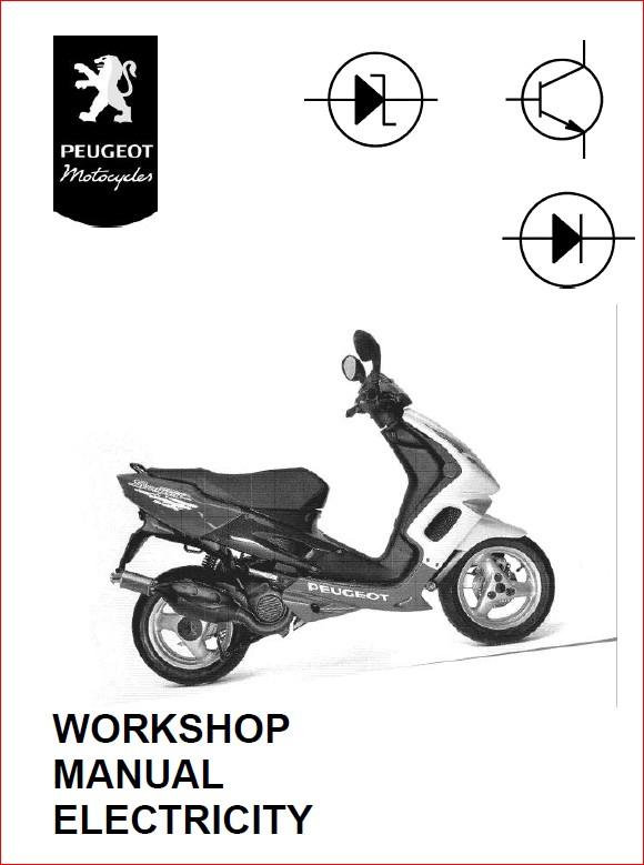 Peugeot Vivacity 50cc 100cc Digital Workshop Repair Manual