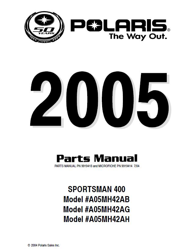 Polaris Sportsman Xp850 Xp 850 Eps 2009 Service Manual Pdf