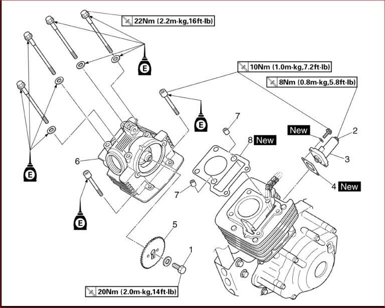 Yamaha Tt r125 R Tt r125lw R Service Repair Workshop