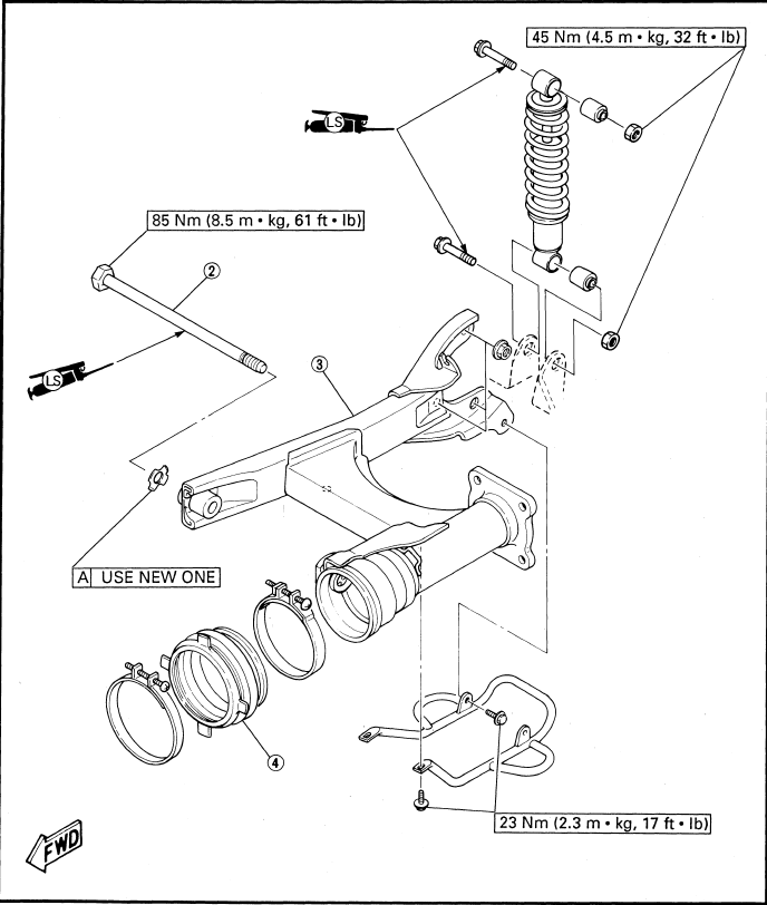 1992-2001 Yamaha Badger 80 Service Manual Service Manual