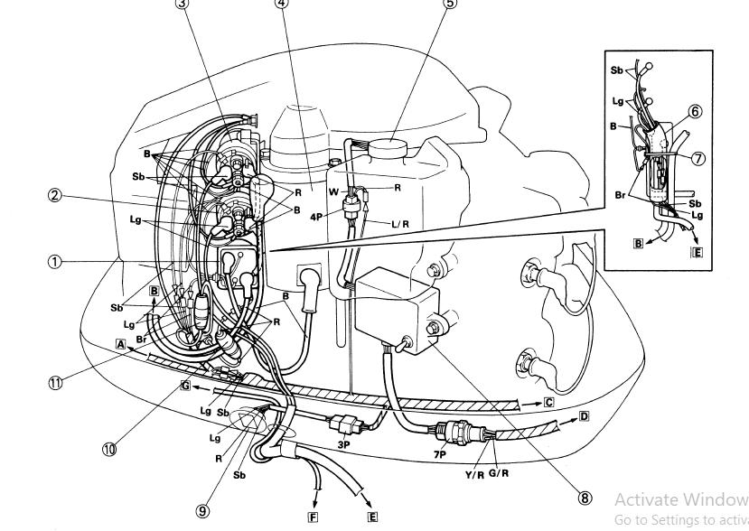 1993 Yamaha 175 Txrr Outboard Service Repair Maintenance