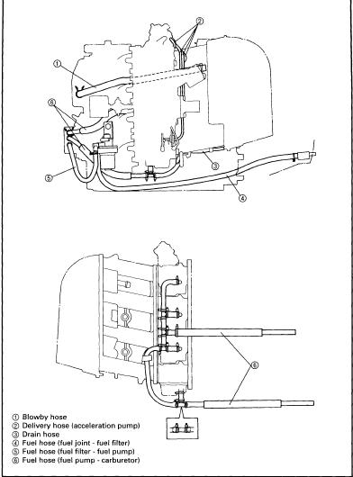 1999 2000 Yamaha F40 F45 F50 4 stroke Outboard Repair