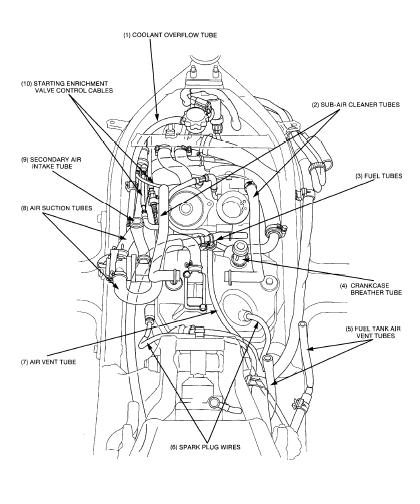 Honda Nt650v Deauville Motorcycle Service Repair Manual