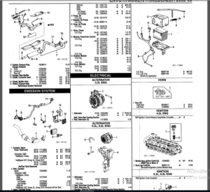 Chevy Trailblazer Parts Manual Catalog Download 2002-2006