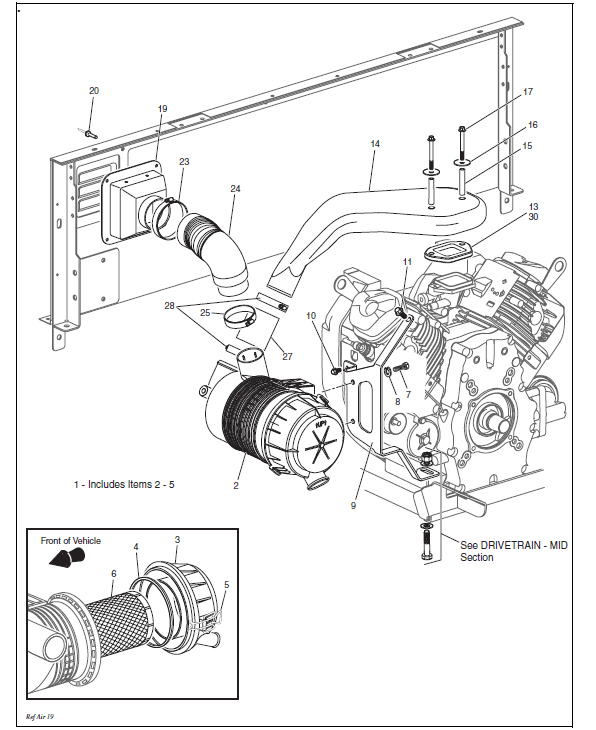 EZ GO Chushman Utility Service Manual ST 4x4 2