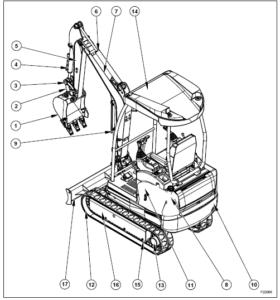 Fiat Kobelco E16 E18 Mini Crawler Excavator Service Repair
