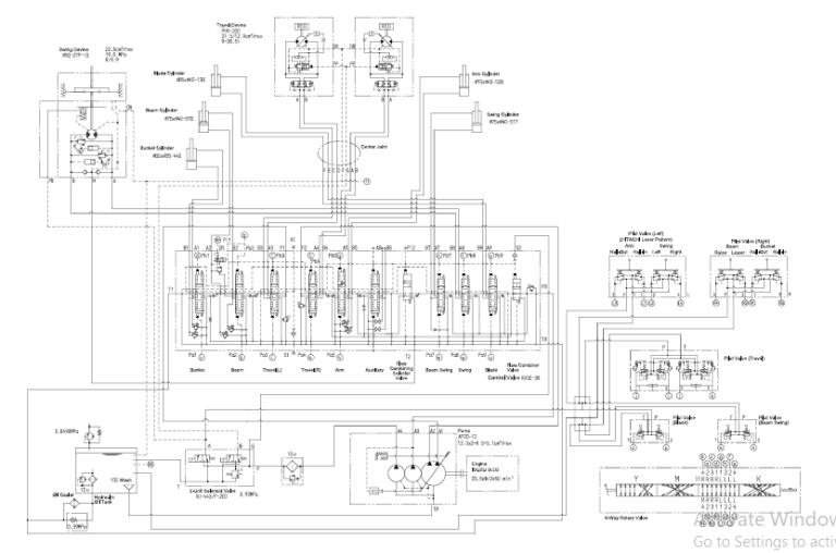 Hitachi Zaxis 27u 30u 35u Excavator Service Repair Manual