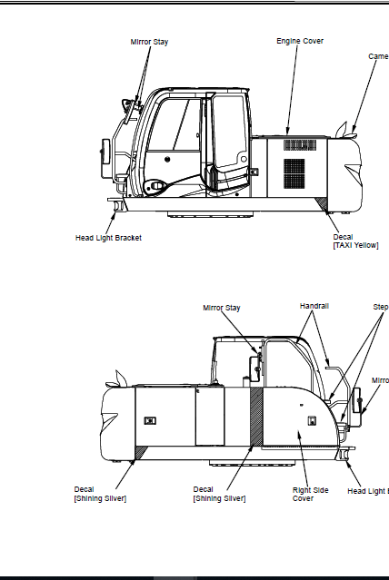 Hitachi Zaxis Zx 170w 3 190w 3 Wheeled Service Manual