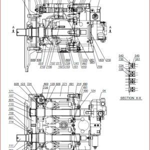 Toyota Skid Steer Loader HUSKI 4SDK3 4SDK4 4SDK5 4SDK6