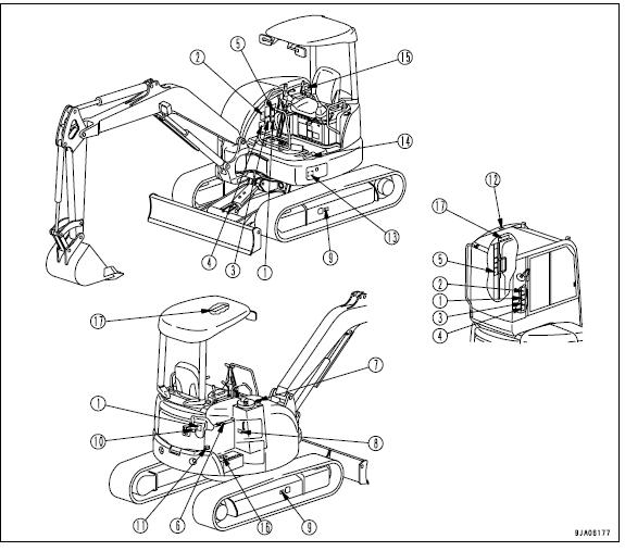 Komatsu Pc27mr 2 Pc35mr 2 Galeo Hydraulic Excavator