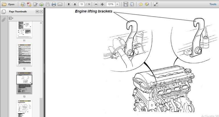 Lotus Elise Exige S2 2004-2012 Factory Service Manual