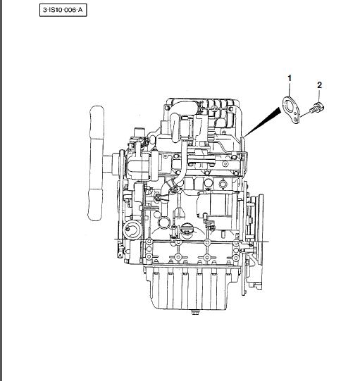Massey Ferguson Mf 1260 Compact Tractor After Sn E60101