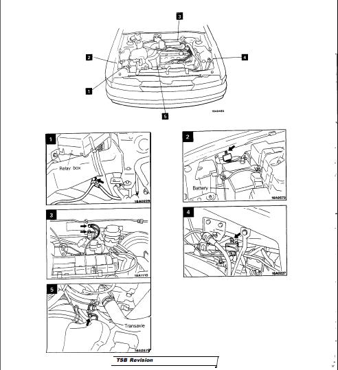 Mitsubishi Galant Eterna Vr4 1989-1993 Car Workshop Repair
