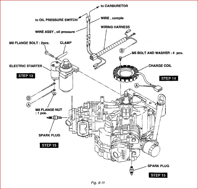 Subaru Robin Eh63v Eh65v Engine Service Repair Parts