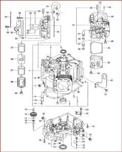 Subaru Robin Eh63v Eh65v Engine Service Repair Parts