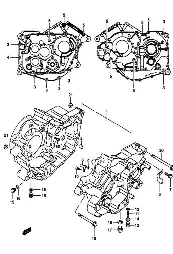 Suzuki Vl125 A4121 Parts Manual Catalog Download 2000-2001