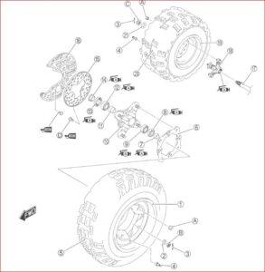 Suzuki Lt r450 Ltr450 2004-2009 Factory Service Manual
