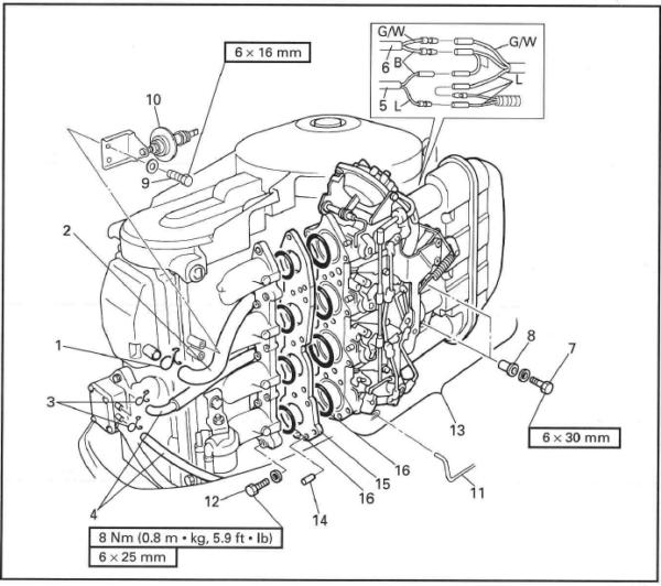 Yamaha Marine Outboard F40a F45a F50a Ft50b F40x F50x T50x