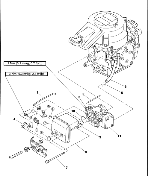 Yamaha Outboard 9 9hp 1997-2006 Factory Workshop Manual