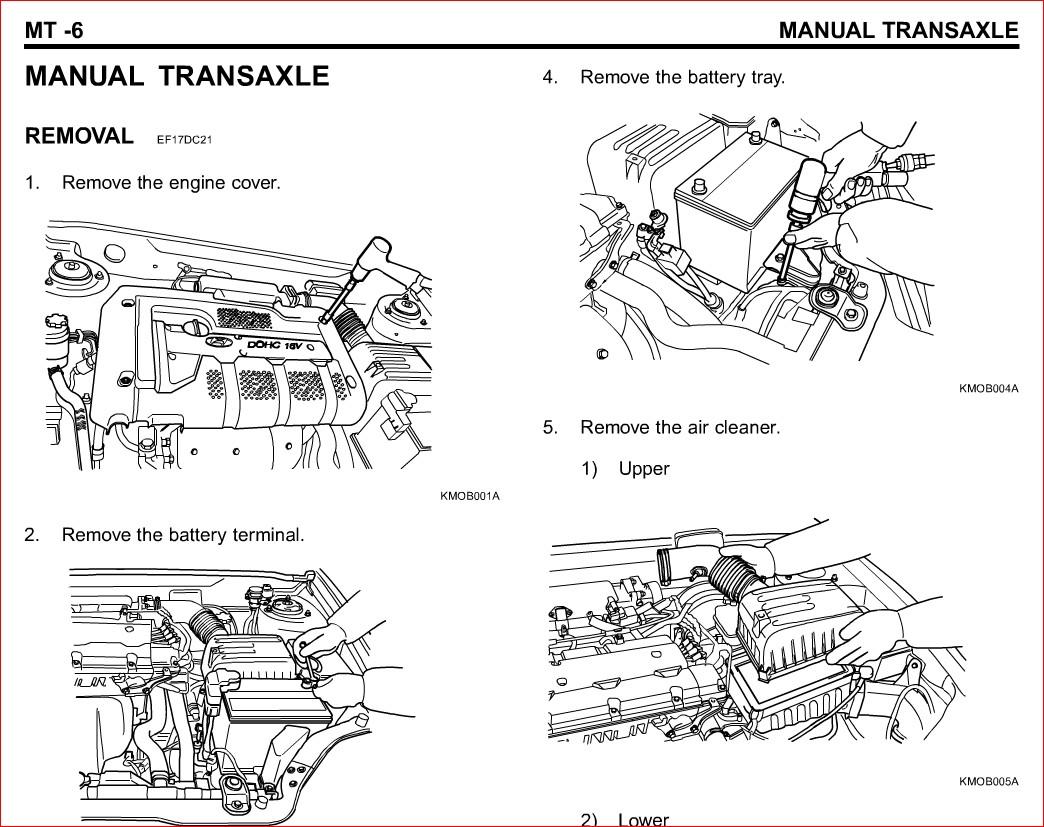 2006 Hyundai Tiburon Service Repair Manual- Download
