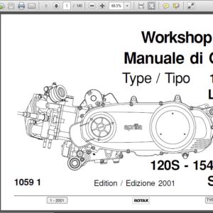 Service Manual Engine Rotax 655 Aprilia Pegaso 650 1995