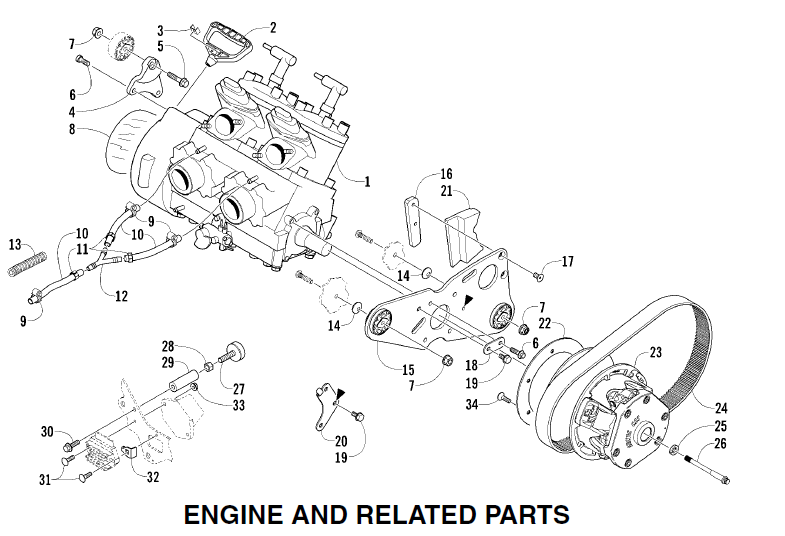 Arctic Cat Snowmobile F7 Parts Manual Catalog Download