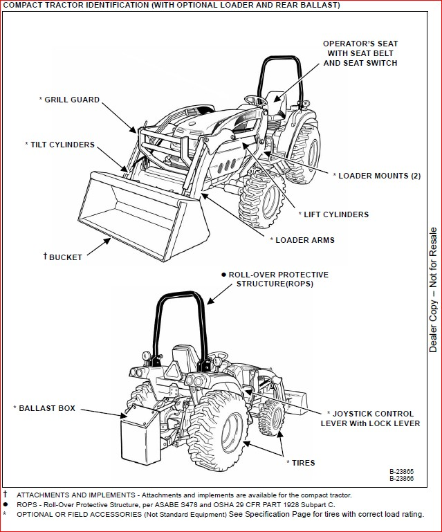 BOBCAT CT335 COMPACT TRACTOR SERVICE REPAIR WORKSHOP