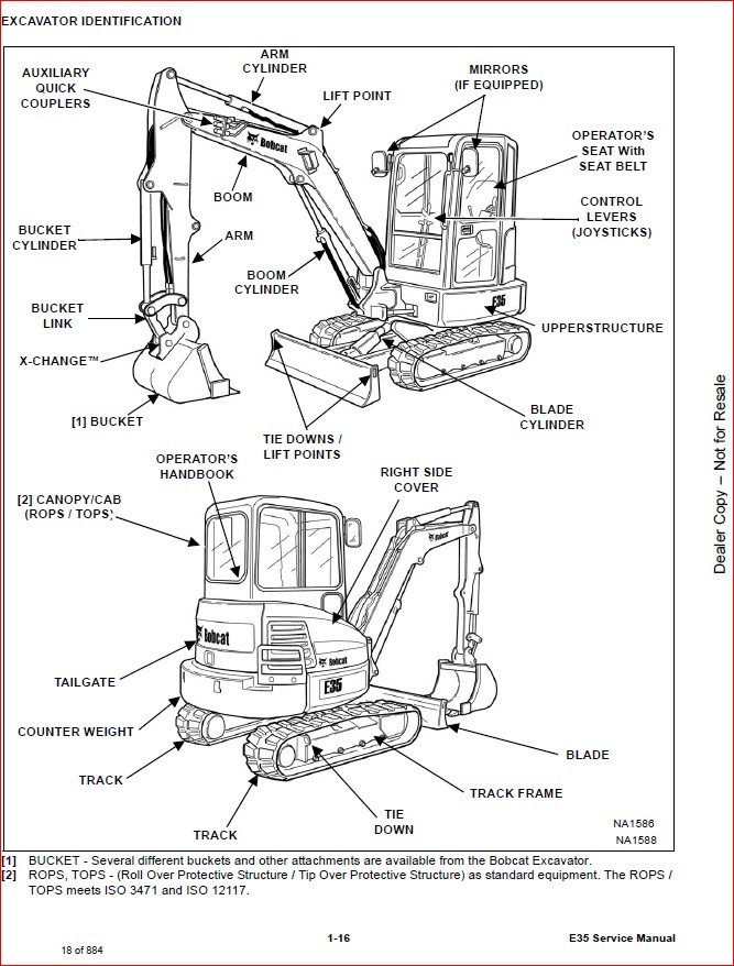 BOBCAT E35 COMPACT EXCAVATOR SERVICE REPAIR WORKSHOP