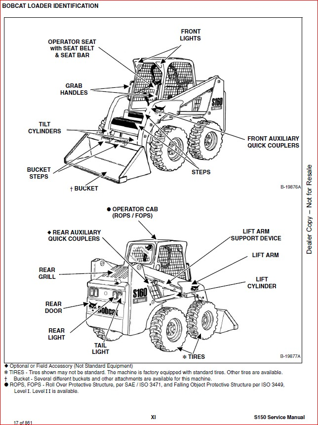 BOBCAT S150 SKID-STEER LOADER SERVICE REPAIR WORKSHOP