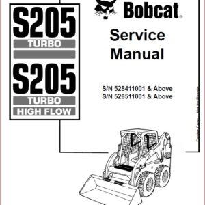 Bobcat 953 Bobcat Loader Service Manual ~ HeyDownloads