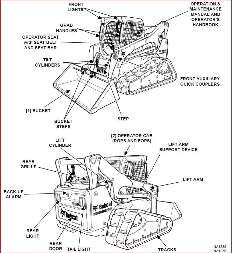BOBCAT T870 COMPACT TRACK LOADER SERVICE REPAIR WORKSHOP