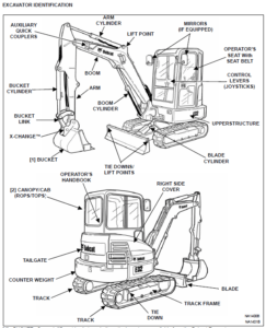 Bobcat E32 Compact Excavator Operation & Maintenance