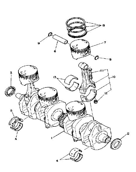 Yamaha Xs1100g Replacement Parts Manual 1980 Onwards PDF