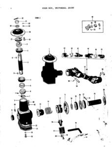 Massey Ferguson Mf 36 Side Delivery Rake Parts Manual