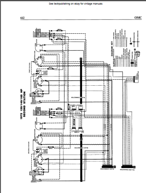 Omc Stern Drive Inboard Io Engines Wiring Diagrams