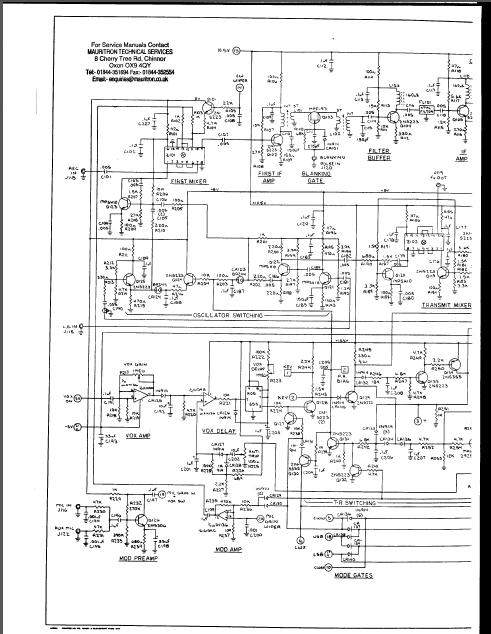 Swan Astro 102bx Astro 150 151 Transceiver Service Manual