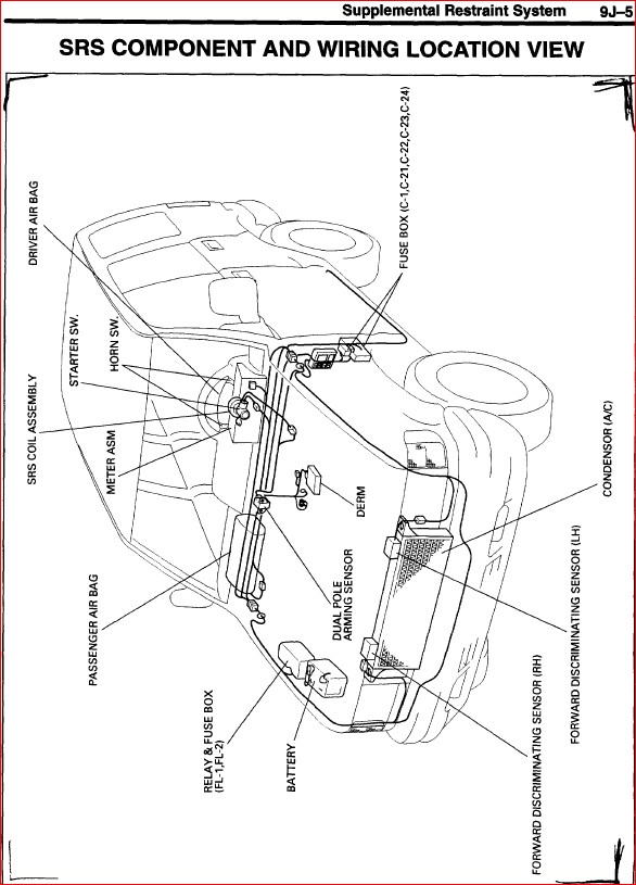1995 ISUZU TROOPER UX WORKSHOP SERVICE REPAIR MANUAL