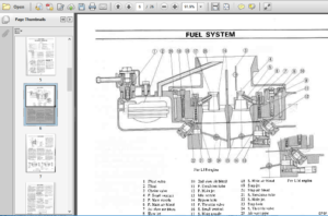 Datsun Engine Manual L14 L16 L18 Workshop Repair Service