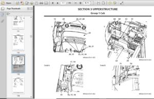 Hitachi ZX 330-5G 330LC-5G 350H-5G 350LCH-5G 350K-5G