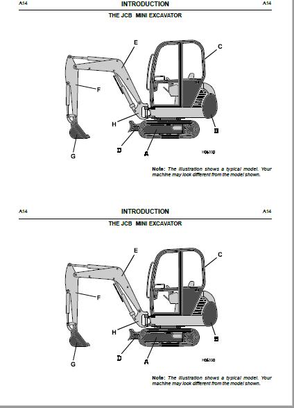 JCB Forklift Rough Terrain RTFL 926, 930, 940, 945, 950