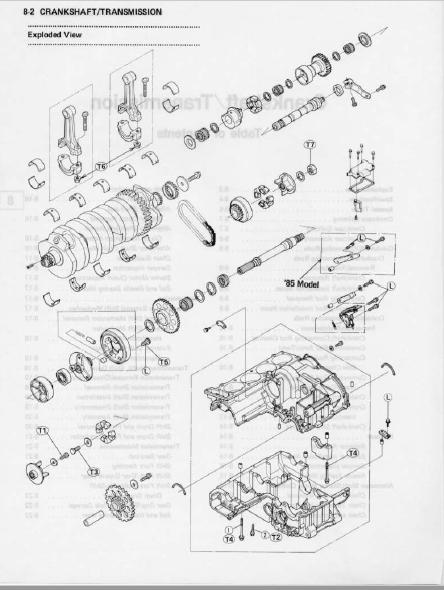 Kawasaki Gpz900 Gpz900r 1984-1990 Workshop Service Manual